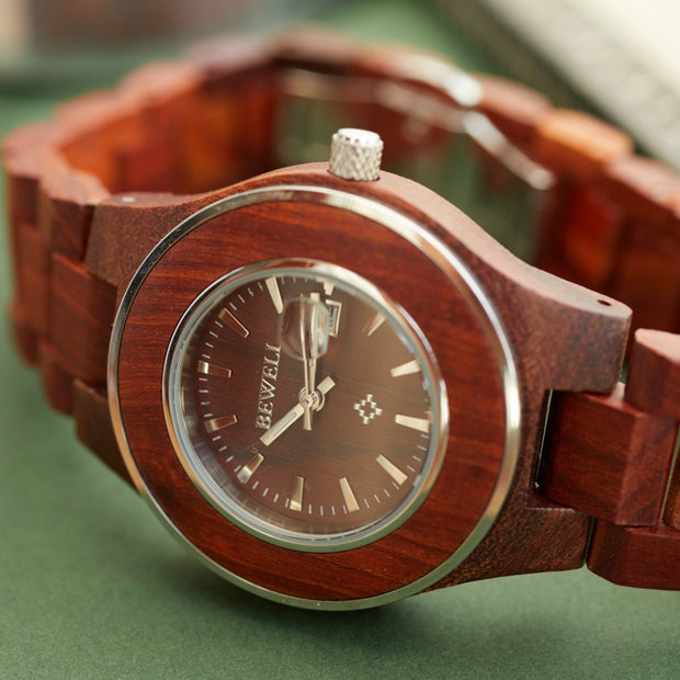 wooden watches, bewell watches, wood watch for couple