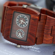 Bewell mercury wood watches for men Engraved Watches, mens wooden watches