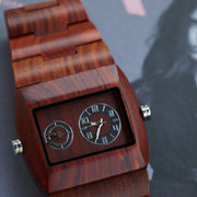 Bewell mercury wood watches for men Engraved Watches
