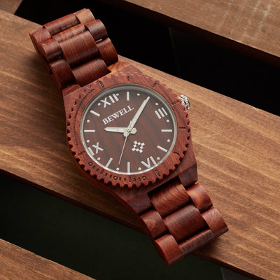 Red Sandalwood Pluto watch