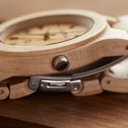 Maple cupid minimalist wood watches for men Bewell Watches Engraved Watches