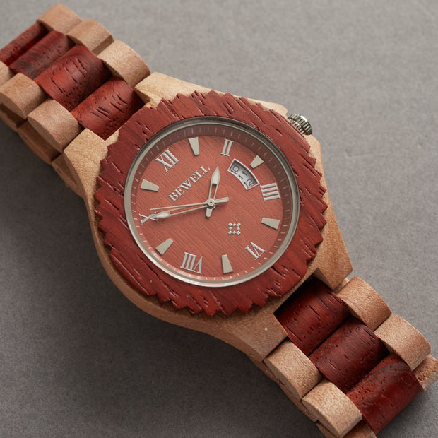 Sandalwood Wood Watches For Men Bewell Watches Engraved Watches