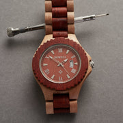 Fashion Handcrafted Wood Watch for Men
