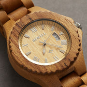 Fashion Handcrafted Unisex Wood Watch