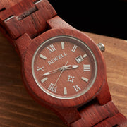 Red Sandalwood Cupid Watch