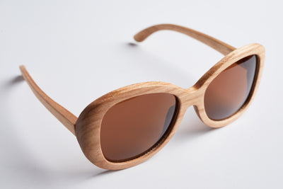 wood sunglasses, polarized lens