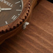 Premium Unisex Verawood Watch, custom wood watch for men, personalized wood watch, engraved watches