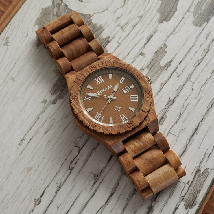 Verawood Mar Wood Watch