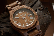 Bewell acacia KOA wood watch for couples