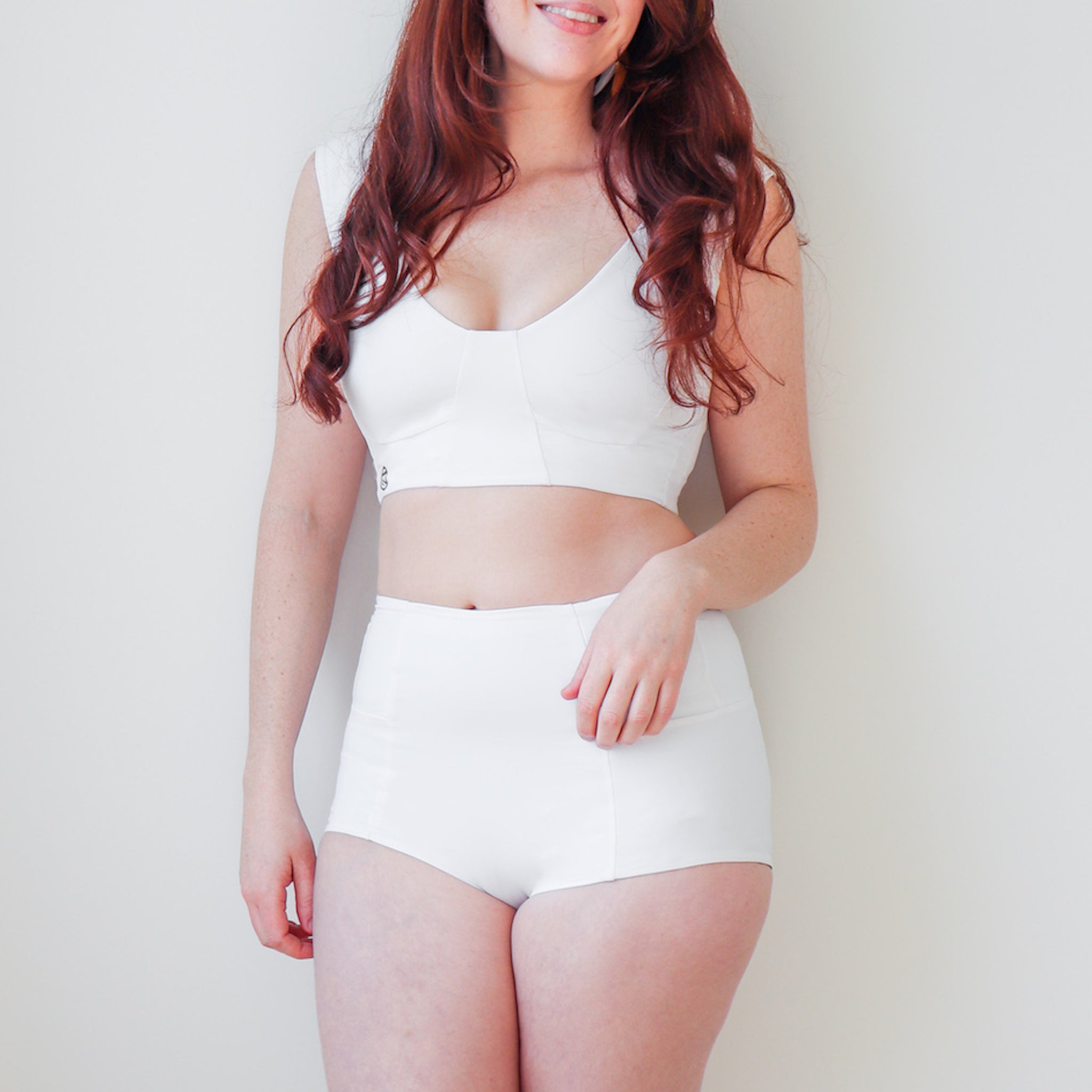 Hi-rise Ally Underwear creates a smooth silhouette and cradles lower back