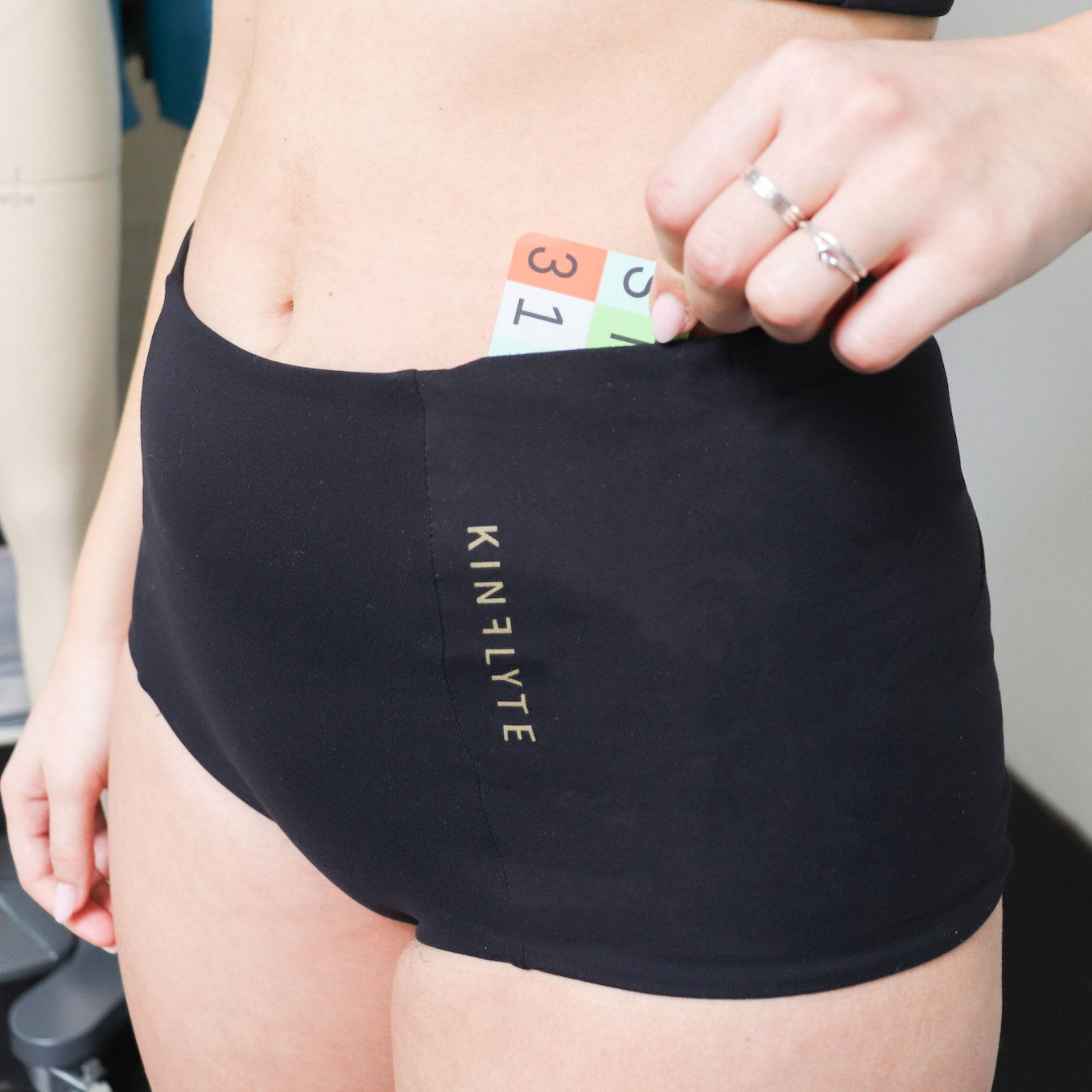 Close-up of Ally Underwear, front pocket