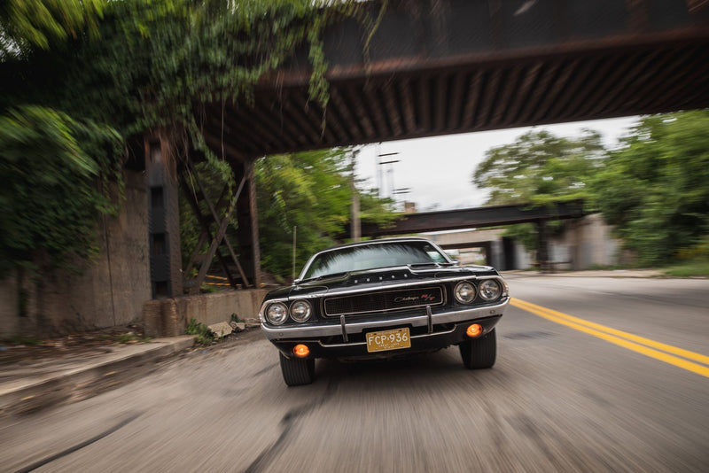 Black Ghost: The mysterious 1970 Challenger that dominated Detroit street racing