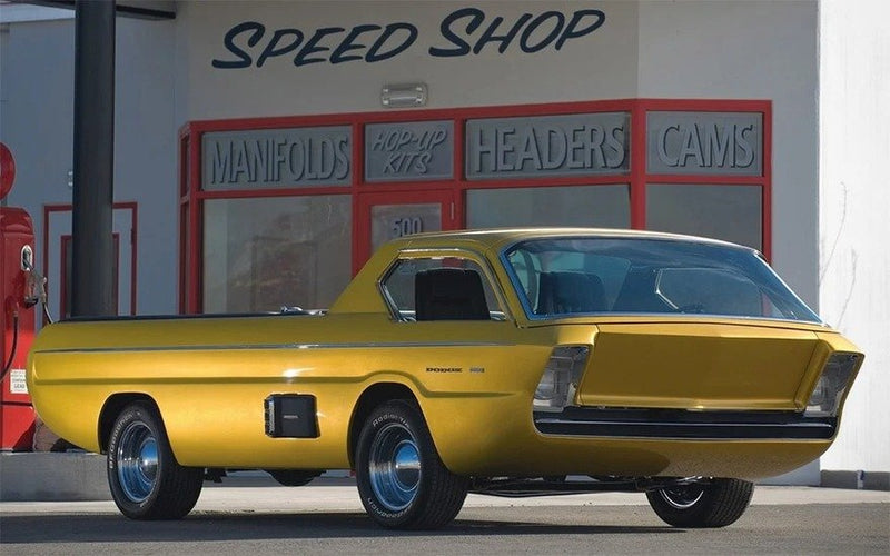 Insane 1967 Dodge Concept Pickup Had Most Elaborate Ingress/Egress You've Ever Seen