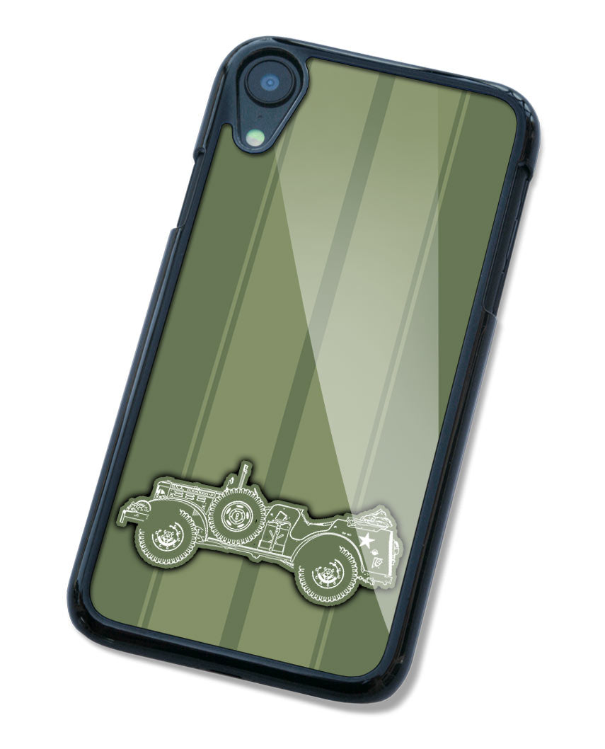 1944 Dodge WC-56 / WC-57 Command Car WWII Smartphone Case - Racing Stripes