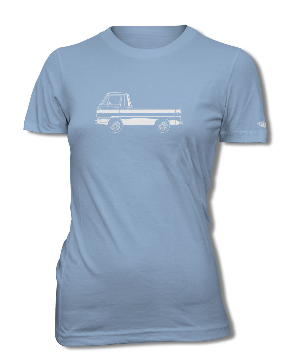 1965 Dodge A100 Pickup T-Shirt - Women - Side View