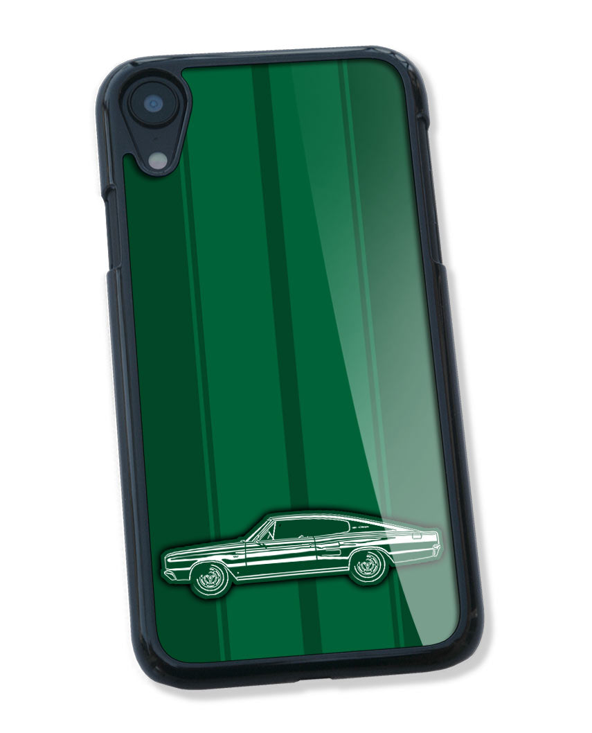 1967 Dodge Charger Coupe Smartphone Case - Racing Stripes