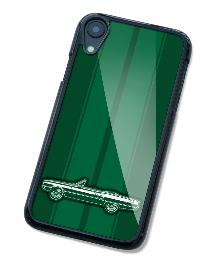 1967 Dodge Coronet 500 Convertible Smartphone Case - Racing Stripes
