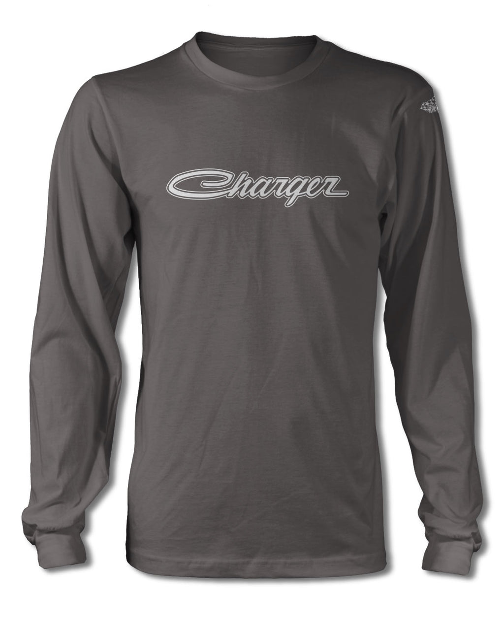 Dodge Charger 1968 - 1973 Emblem T-Shirt - Long Sleeves - Emblem