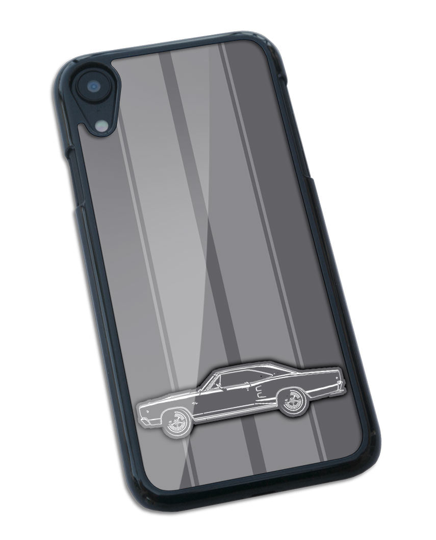 1968 Dodge Coronet RT Coupe Smartphone Case - Racing Stripes