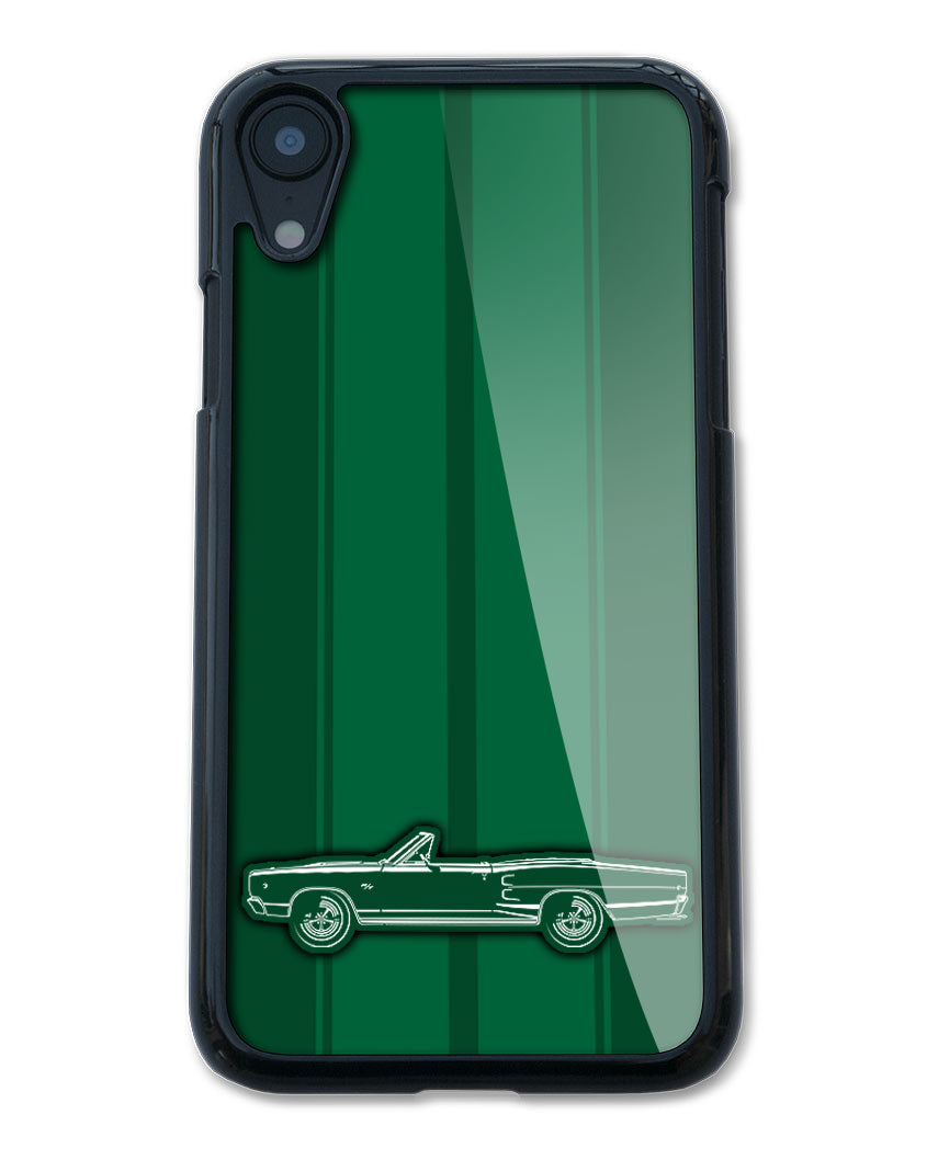 1968 Dodge Coronet RT Convertible Smartphone Case - Racing Stripes