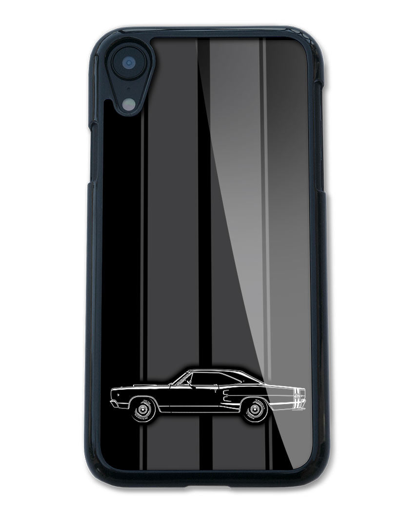 1968 Dodge Coronet Super Bee Coupe Smartphone Case - Racing Stripes