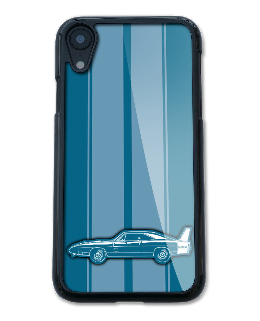 1969 Dodge Charger Daytona Coupe Smartphone Case - Racing Stripes