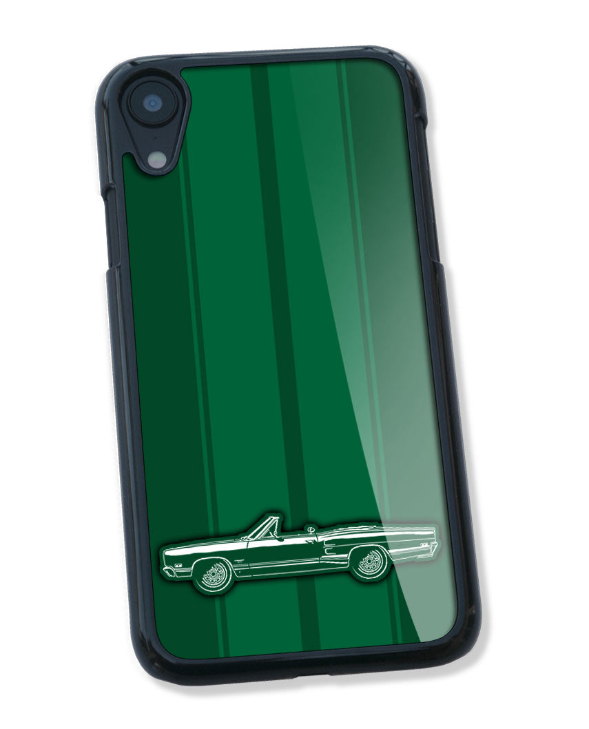 1969 Dodge Coronet 500 Convertible Smartphone Case - Racing Stripes
