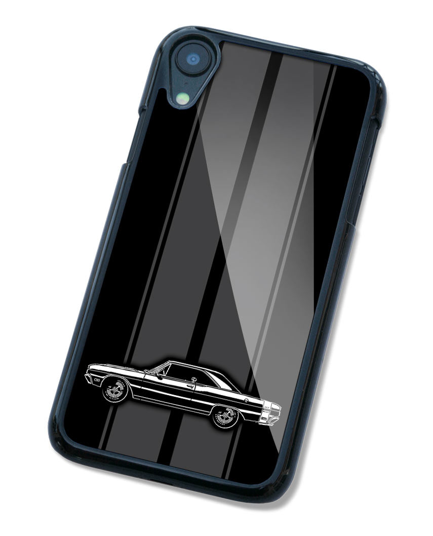1969 Dodge Dart GTS Coupe Smartphone Case - Racing Stripes