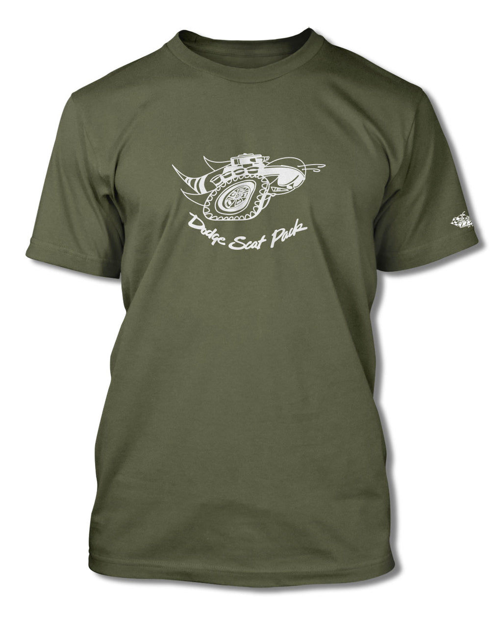 Dodge Scat Pack 1969 Emblem T-Shirt - Men - Emblem