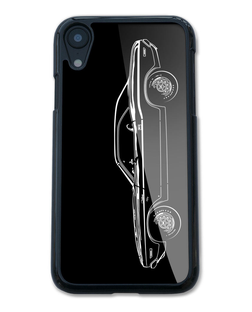 1970 Dodge Challenger RT Coupe Bulge Hood Smartphone Case - Side View