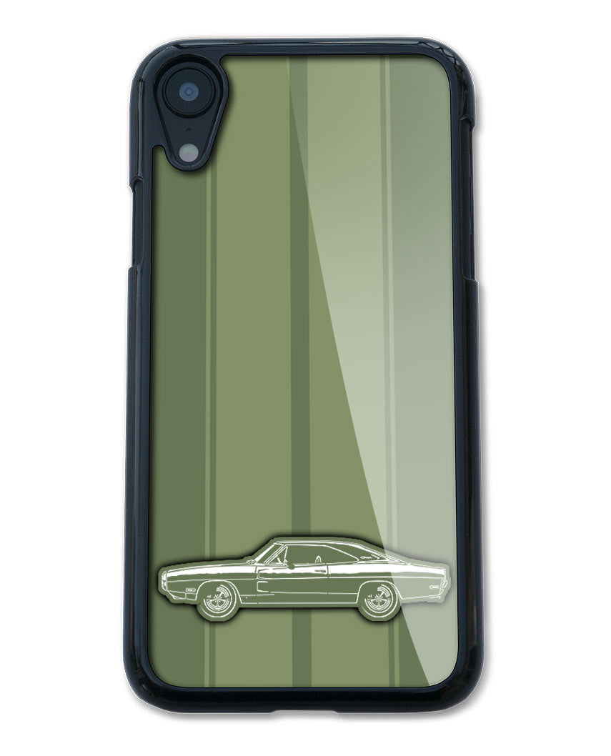 1970 Dodge Charger Base Coupe Smartphone Case - Racing Stripes