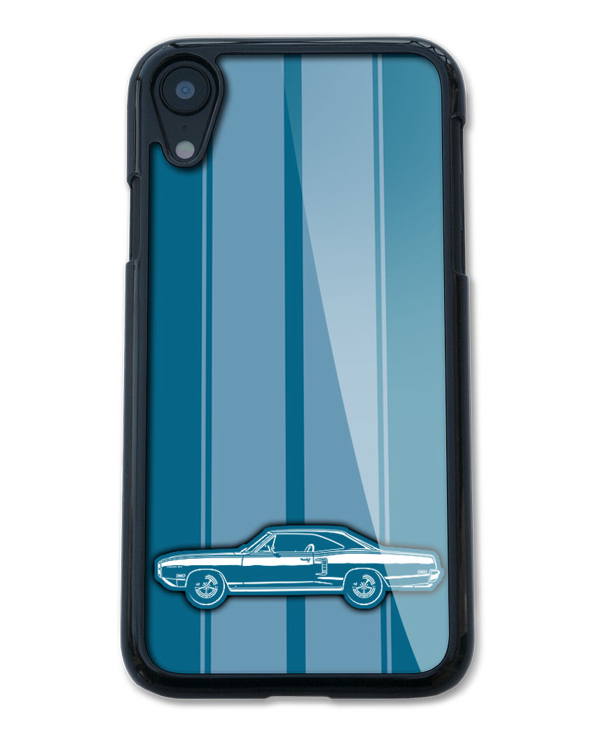 1970 Dodge Coronet 500 Coupe Smartphone Case - Racing Stripes