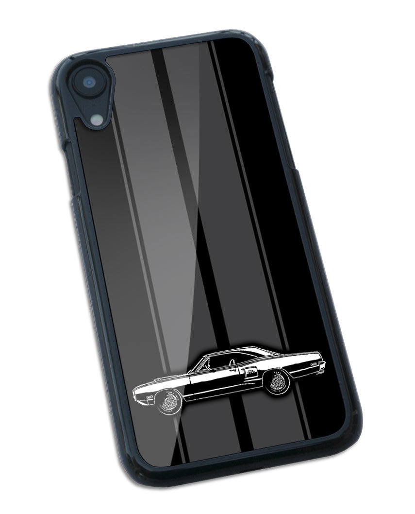 1970 Dodge Coronet RT 440 Hardtop Smartphone Case - Racing Stripes