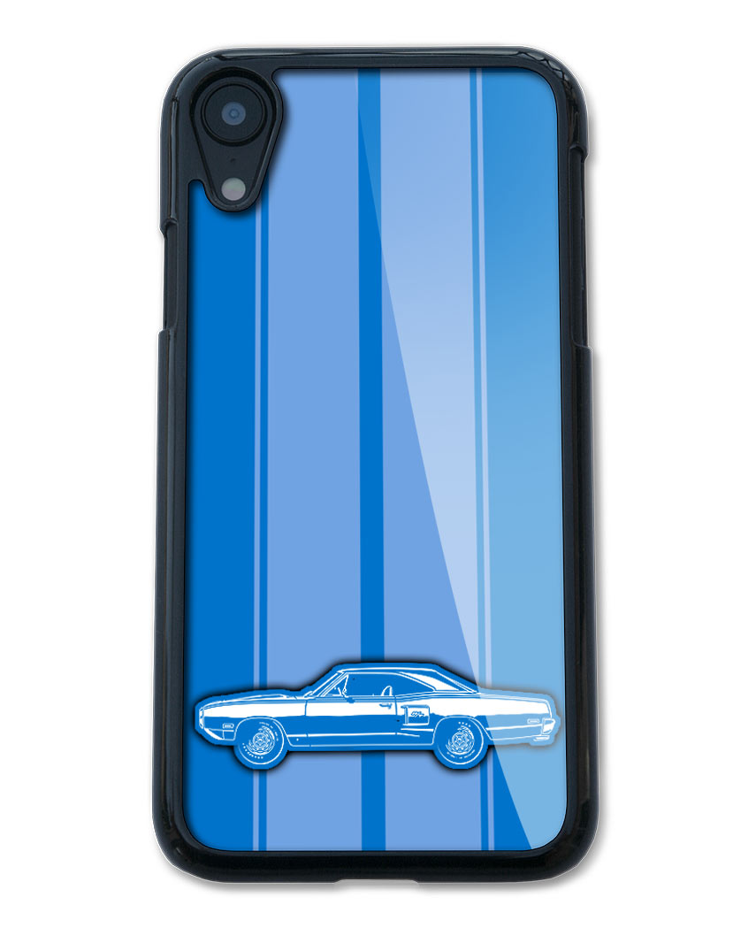 1970 Dodge Coronet RT Coupe Smartphone Case - Racing Stripes