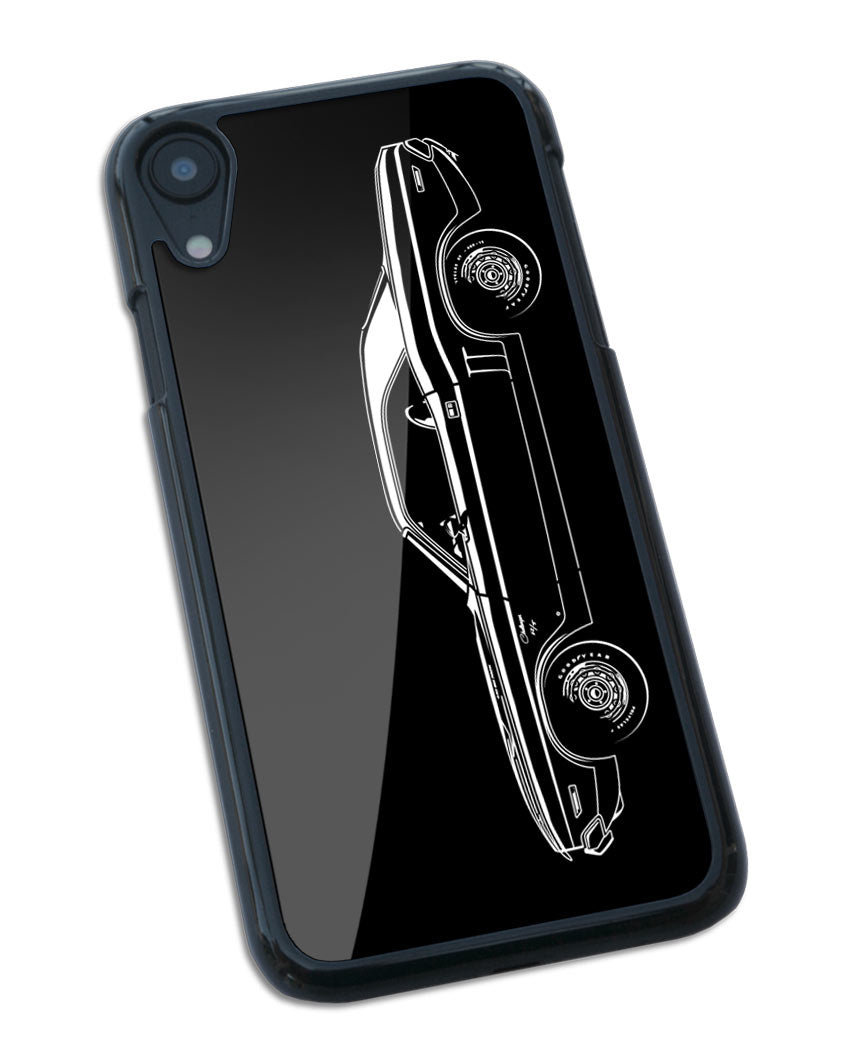 1971 Dodge Challenger RT Coupe Bulge Hood Smartphone Case - Side View