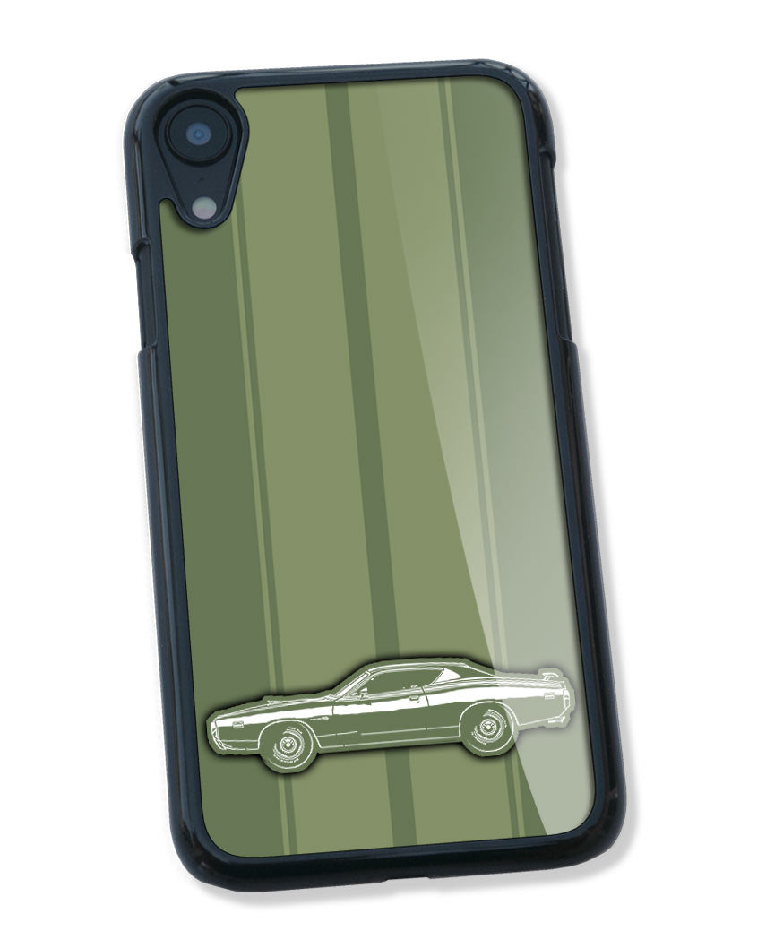 1971 Dodge Charger Super Bee Hardtop Smartphone Case - Racing Stripes