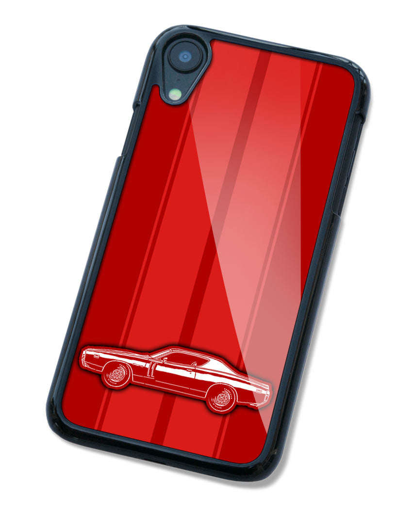 1971 Dodge Charger RT Coupe Smartphone Case - Racing Stripes