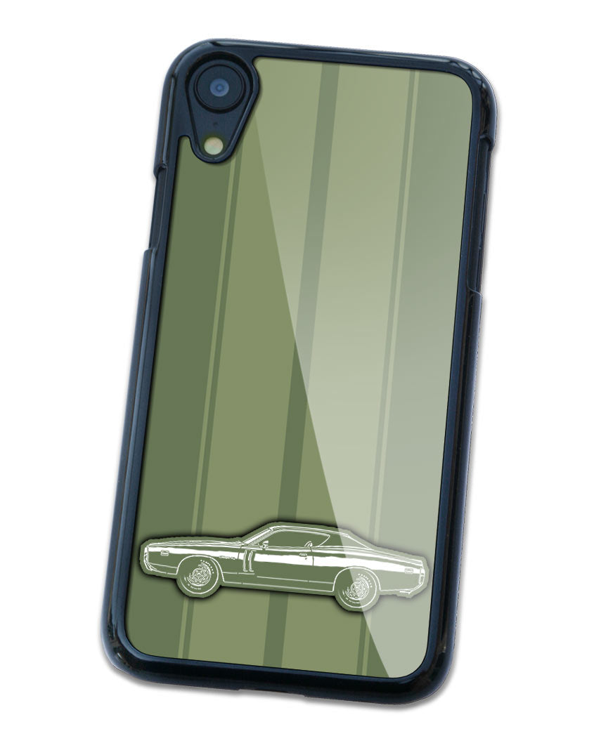 1971 Dodge Charger RT Hardtop Smartphone Case - Racing Stripes