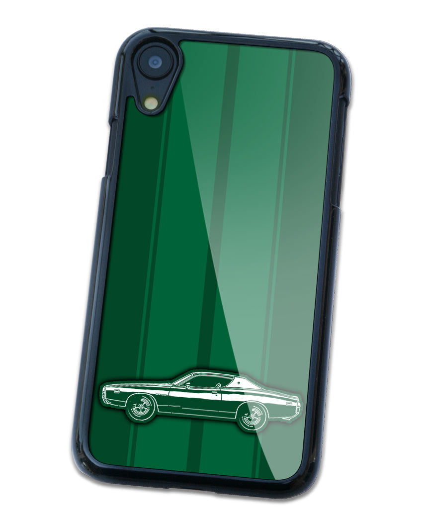 1971 Dodge Charger SE 383 Magnum Hardtop Smartphone Case - Racing Stripes