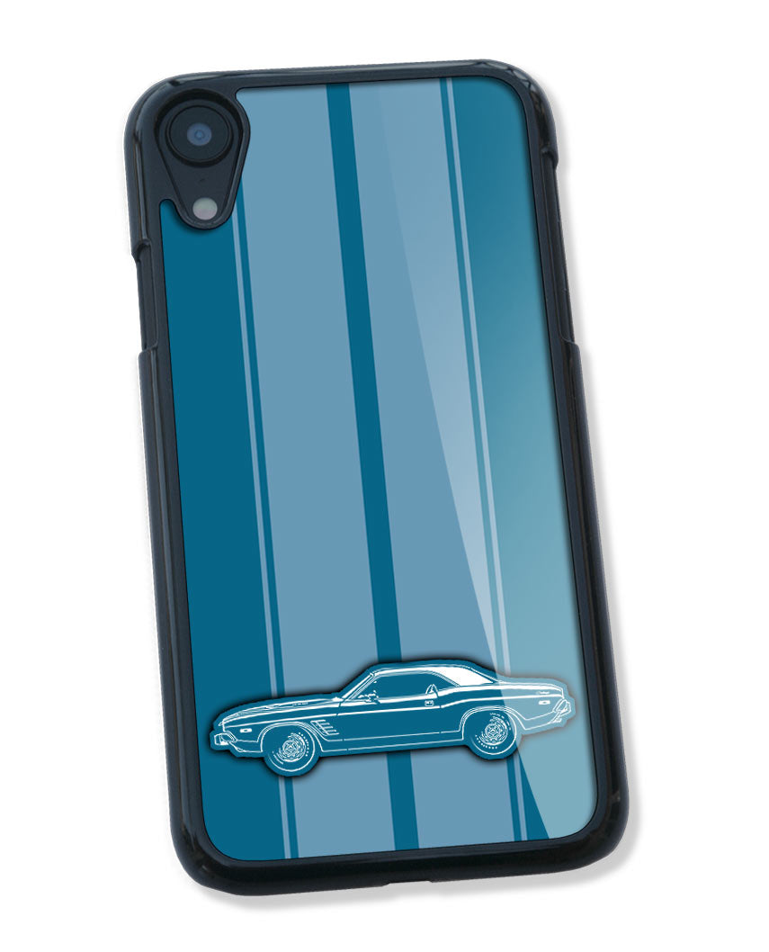 1973 Dodge Challenger Rallye Coupe Smartphone Case - Racing Stripes