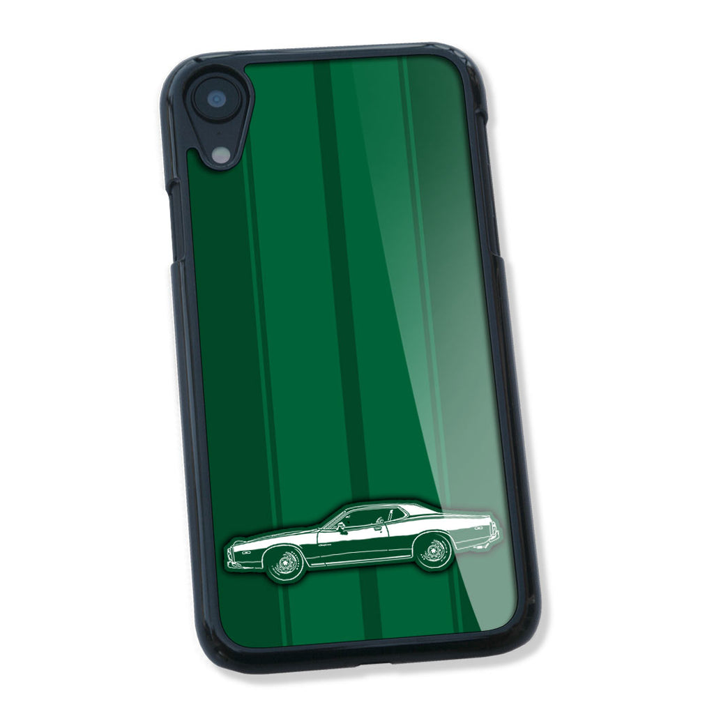 1973 Dodge Charger Rallye 440 Magnum Coupe Smartphone Case - Racing Stripes