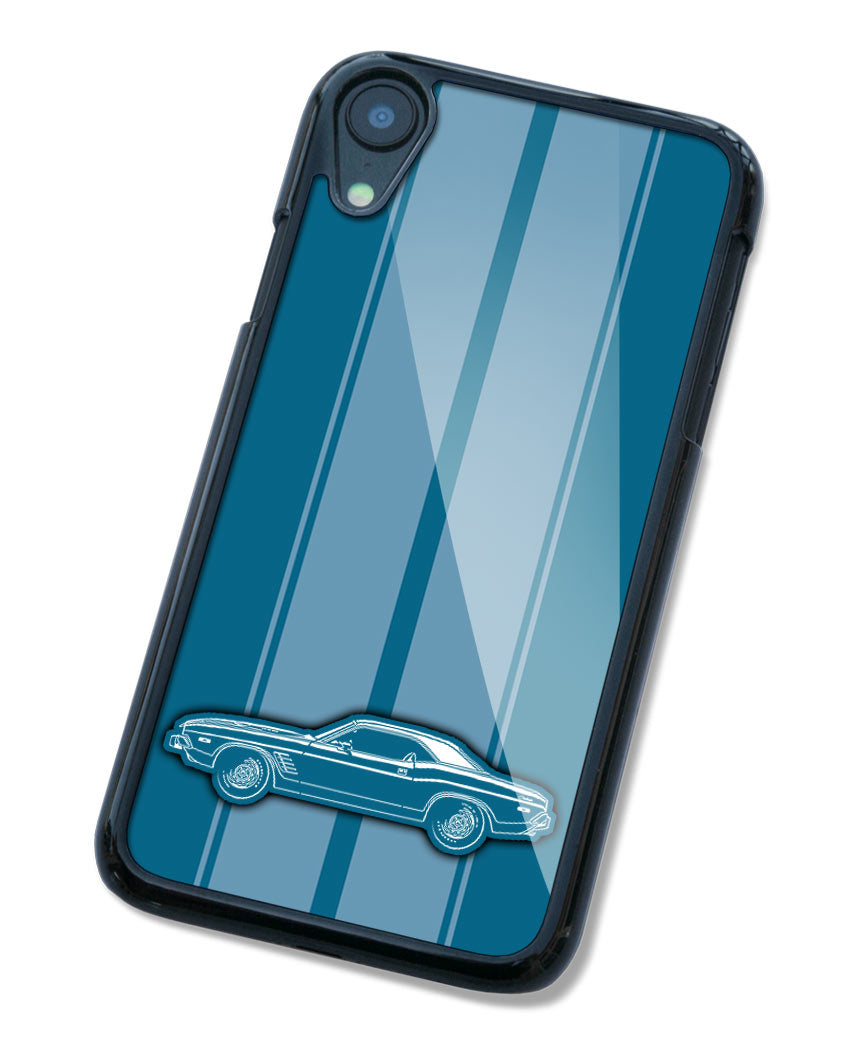 1974 Dodge Challenger Rallye Coupe Smartphone Case - Racing Stripes