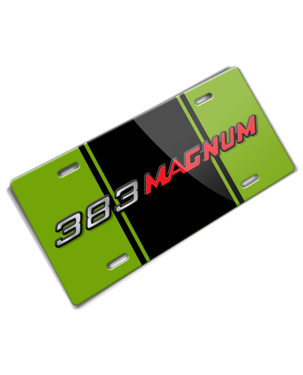 Dodge 383 Magnum Emblem Novelty License Plate