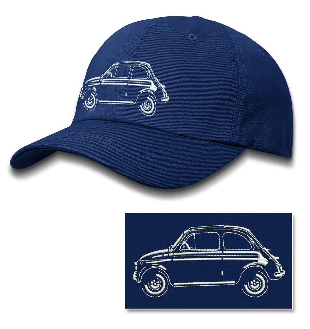 Fiat 500 Baseball Cap for Men & Women