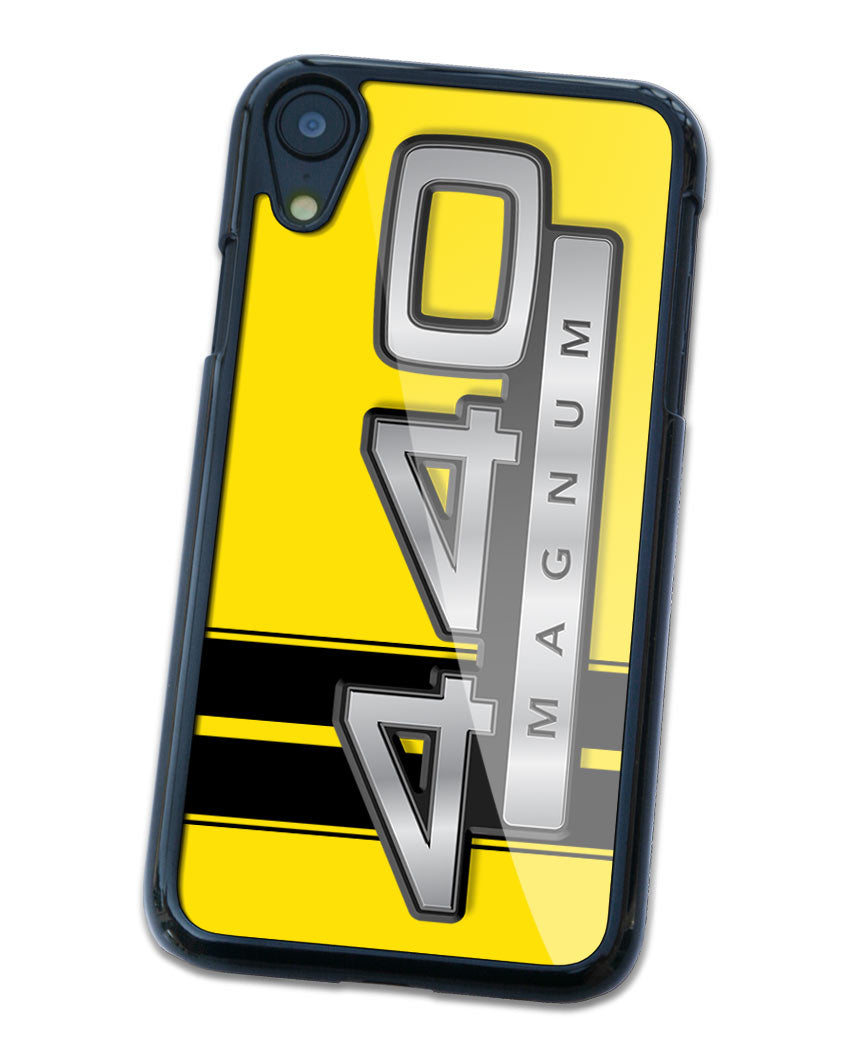 Dodge 440 Magnum 1967 - 1968 Emblem Smartphone Case - Racing Stripes