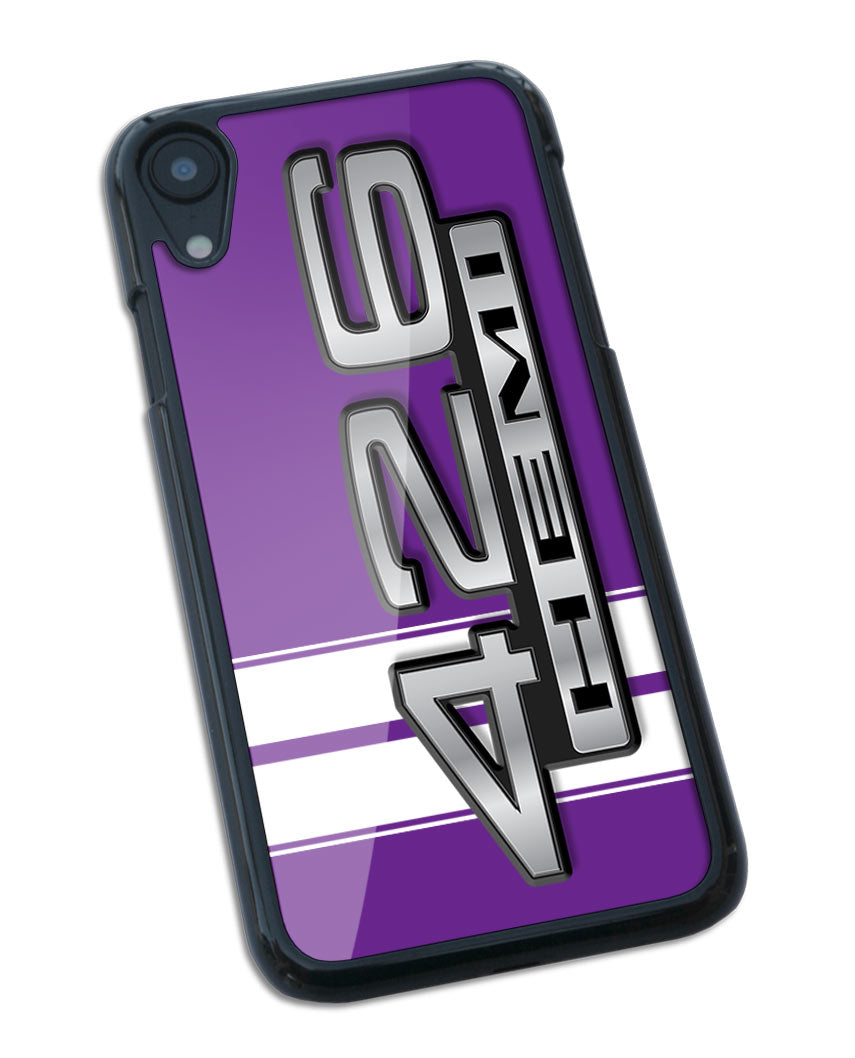 Dodge HEMI 426 1967 - 1968 Emblem Smartphone Case - Racing Stripes
