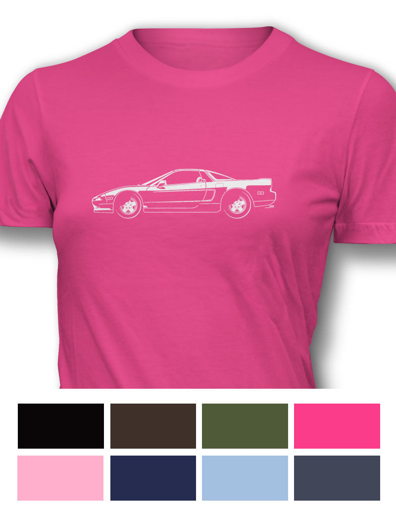 Honda Acura NSX 1990 - 2005 Women T-Shirt - Side View