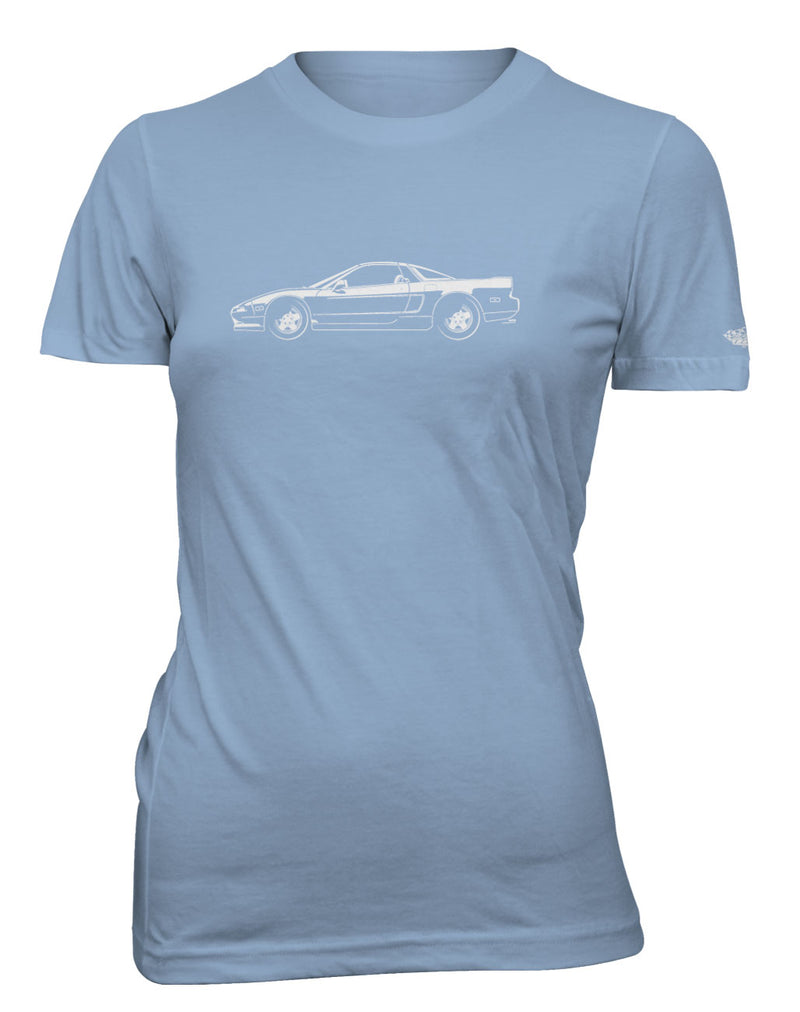 Honda Acura NSX 1990 - 2005 Coupe T-Shirt - Women - Side View