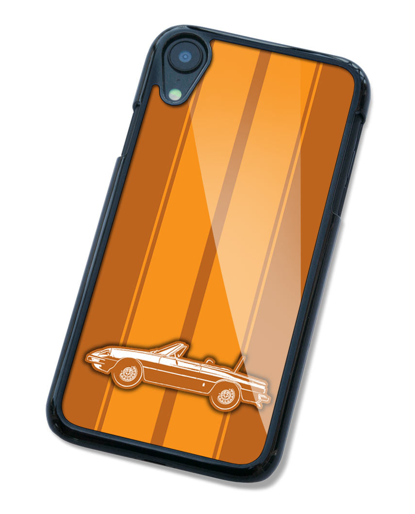 Alfa Romeo Spider Veloce Convertible 1970 - 1982 Smartphone Case - Racing Stripes