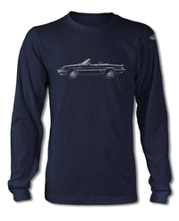 Alfa Romeo Spider Veloce Convertible Graduate 1983 - 1989 T-Shirt - Long Sleeves - Side View